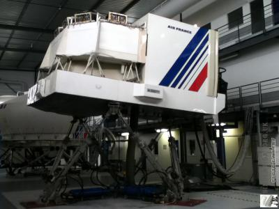 Air France 747-200. Lovely classic at sim aerotraining